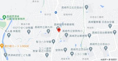 【地図】安岡寺町1丁目アパート (株)Roots