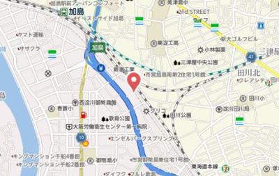 【地図】サン・アエル竹島