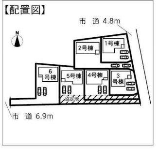 【区画図】浜松市南区芳川町 20-1期 新築一戸建て 3号棟 ID