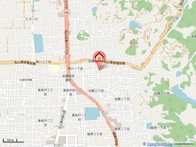 【地図】パルテノン吉藤A