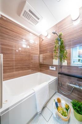 【浴室】三井東陽ハイツ 専用庭付 リノベーション済