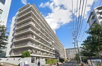 【外観】三井東陽ハイツ 専用庭付 リノベーション済