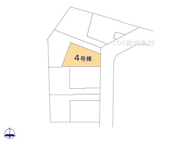 【区画図】新築戸建/富士見市大字水子(全8棟)