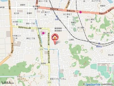 【地図】ホワイトダフネ