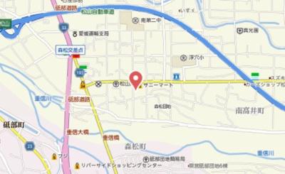 【地図】フレグランスあすか
