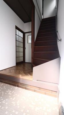 【玄関】上高丸3丁目貸家