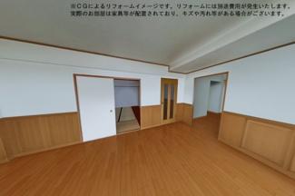 【洋室】フォルザ武庫之荘