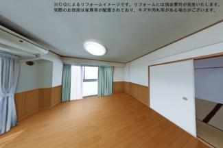 【居間・リビング】フォルザ武庫之荘