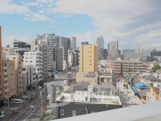 モアリッシェル東新宿の展望です