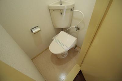 温水洗浄便座付