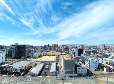 バルコニーからの眺望/14階につき良好です