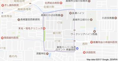 【地図】長澤ハイツ (株)Roots