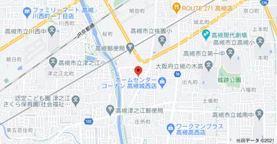【地図】中川町戸建(株)Roots