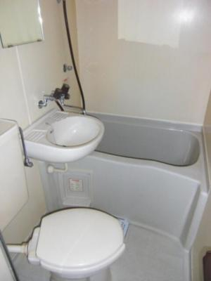【浴室】スカイコート川崎第6