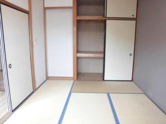 1畳分の押入と天袋