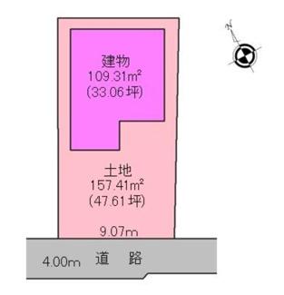 【区画図】沼津市原 新築戸建