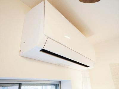 新規のエアコンが設置されています。