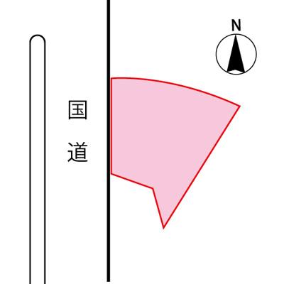 【区画図】熊谷市中奈良売土地