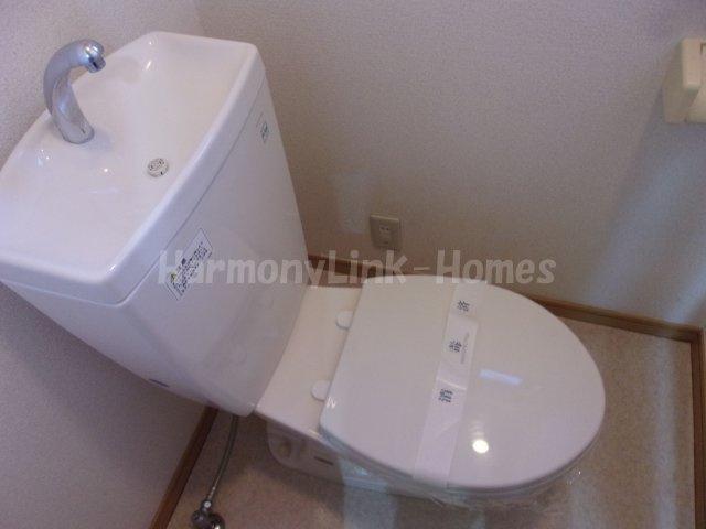 Kコーポ駒込の清潔感のあるトイレです☆