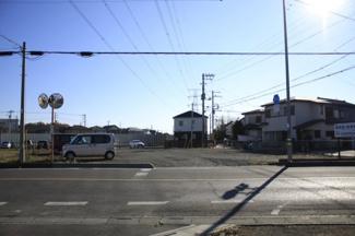 【外観】鶴ヶ島市大字下新田 建築条件なし売地 「一本松駅」徒歩6分 敷地170坪