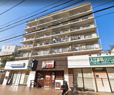 【外観】西大島ビューハイツ 8階 角 部屋 リ ノベーション済
