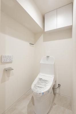 【トイレ】西大島ビューハイツ 8階 角 部屋 リ ノベーション済