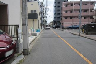 【前面道路含む現地写真】国立市富士見台2丁目 全4棟 4号棟 仲介手数料無料