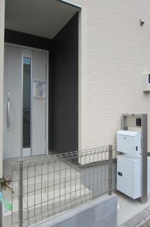 【玄関】国立市富士見台2丁目 全4棟 4号棟 仲介手数料無料