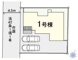 【区画図】西区二ツ宮