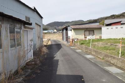 【前面道路含む現地写真】南丹市園部町上木崎町上中畷
