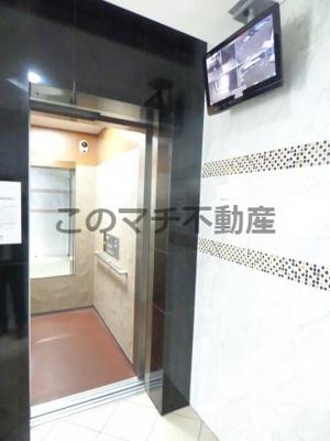 エレベーター・防犯モニター