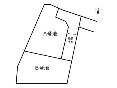 【区画図】姫路市御立西3丁目/売土地
