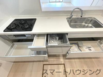 キッチンです 食洗器付きです。