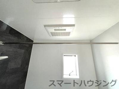 浴室換気乾燥機付きです。
