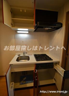 【キッチン】パークウェル曙橋駅前