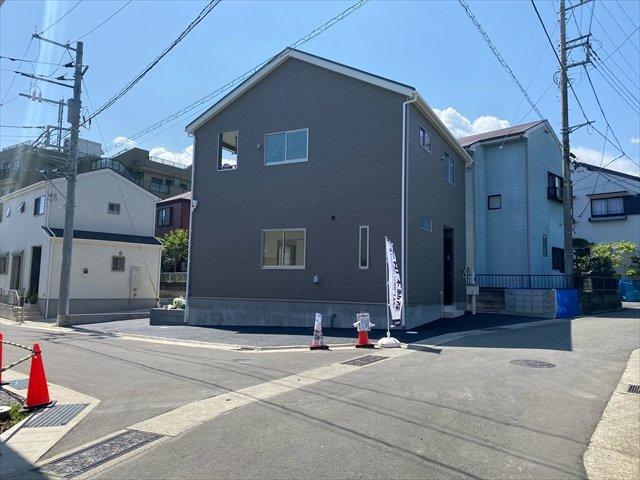 【外観】新築一戸建て「小田原市久野第33」全2棟/残1棟