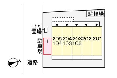 【駐車場】ドルチェヴィータ・鎌倉
