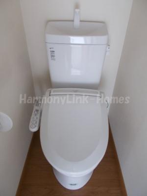 フェリスマシェリのシンプルで使いやすいトイレです(温水洗浄便座)☆