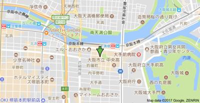 【地図】公園ハイツ