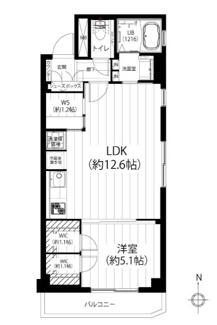 9階最上階の開放的な東南角部屋、便利なワークスペース付です