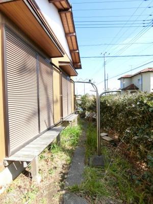 【庭】渡辺貸家D棟