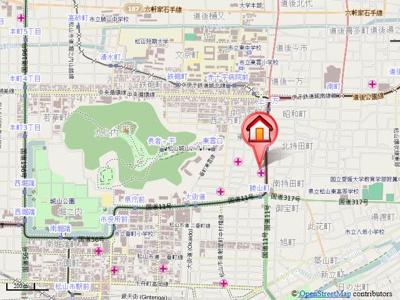 【地図】ジャンヌ喜与町