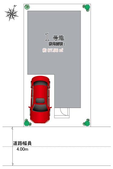 ・駐車1台可能 ・LDK約18.6帖にカウンターキッチン。 ・リビング階段 ・シューズインクローク有り ・南面バルコニー