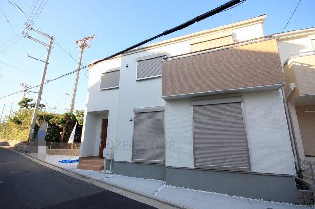 堺市西区浜寺諏訪森町東 新築一戸建て 同等仕様設備 外観