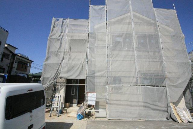 新築一戸建て 同等仕様設備 外観 4月下旬完成予定