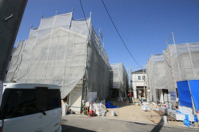 【外観】堺市西区浜寺諏訪森町東3丁 新築一戸建て