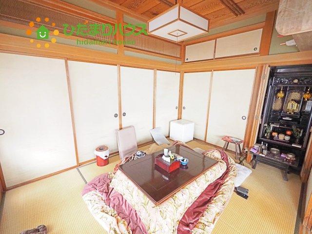 赤ちゃんスペースや客間など、多彩な用途で使用できる和室☆