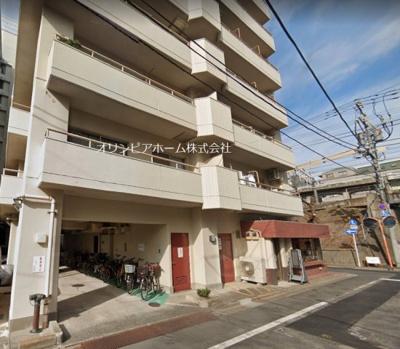 【外観】レック亀戸グリーンマンション 2階 角部屋 リノベーション済