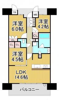 ジオ阪急川西ステーションフロント 2階