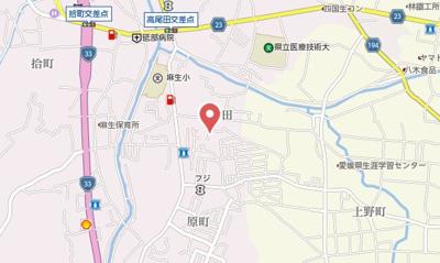 【地図】フォブールKD Ⅱ